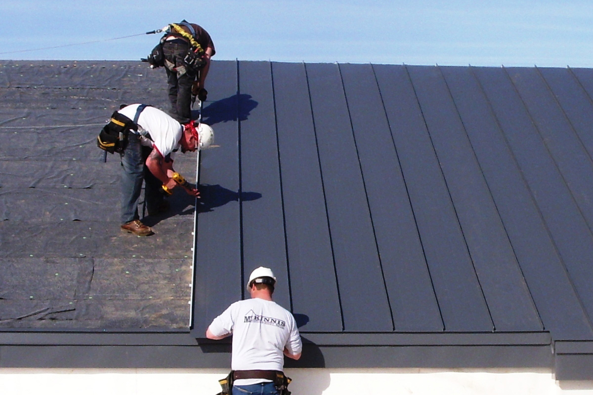 What Is A Standing Seam Metal Roof Mckinnis Roofing