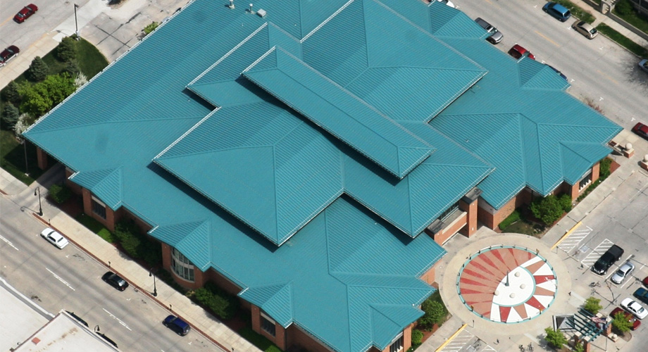 mckinnis_commercial_roofing_Council Bluffs Library