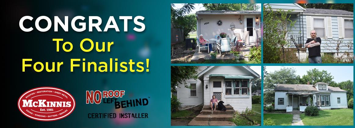 No Roof Left Behind - Top 4 Finalists